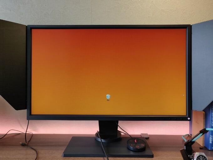 XL2546の色再現性