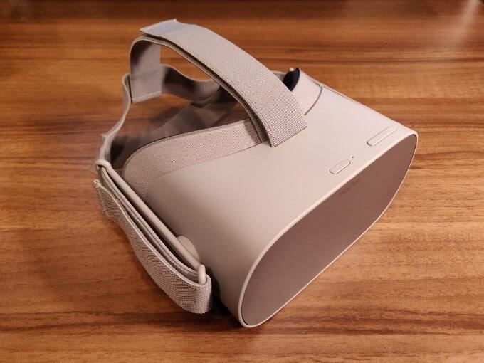 Oculus Go ボタン