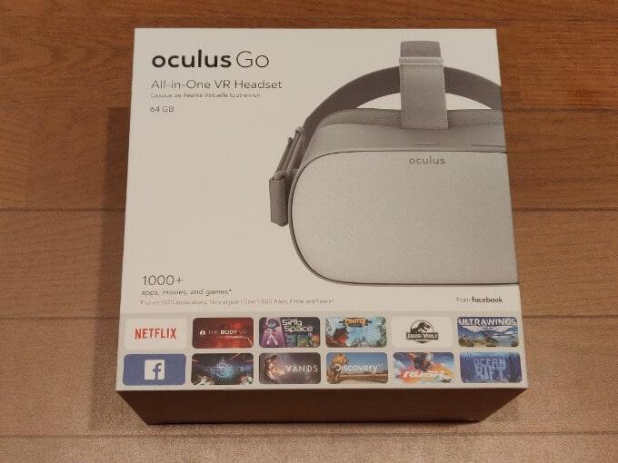 Oculus Go 箱