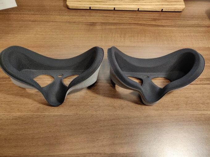 Oculus Go 平たい顔用 パッド