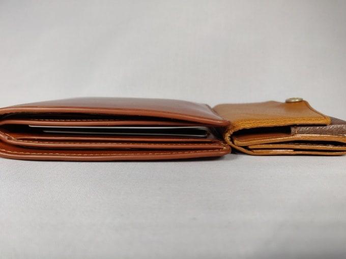 Bellroy HIDE & SEEK 小さい財布 厚み 比較