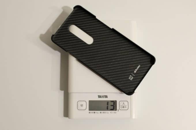 OnePlus 7 Pro 純正カーボンケース 重さ