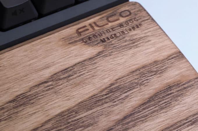 FILCO ウッドパームレスト