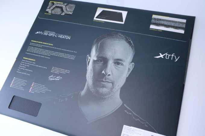 Xtrfy GP3 パッケージ裏面
