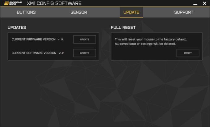 Endgame Gear XM1 Config Software