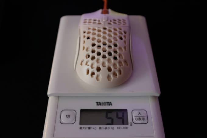 finalmouse ultralight 2 重さ