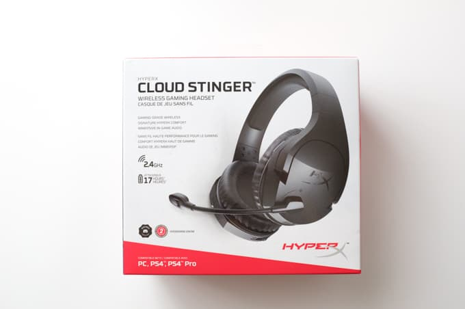 Cloud Stinger Wireless 箱