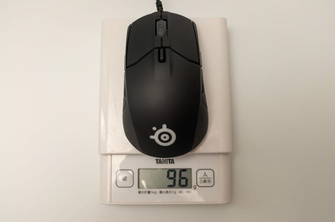Steelseries Sensei310 重さ