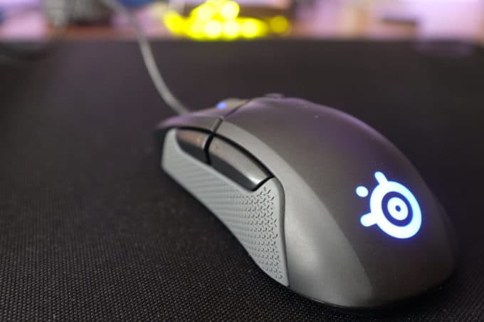 SteelSeries Rival310 LEDライト