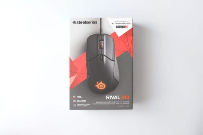 SteelSeries Rival310 箱