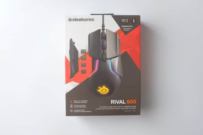 SteelSeries Rival600 箱