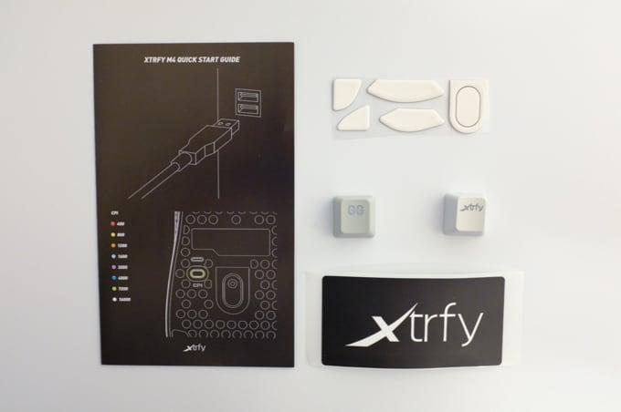 Xtrfy M4 付属品