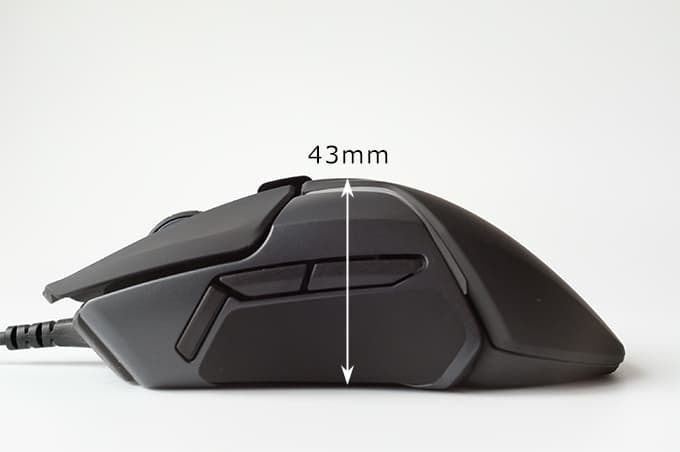 SteelSeries Rival600 左