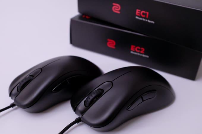 ZOWIE EC1 / EC2 レビュー:ソールはEC-Aタイプに回帰。定番ゲーミングマウスが新しくなったぞ!