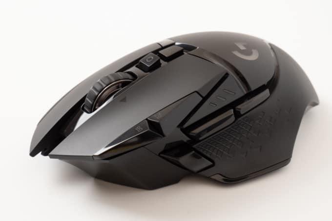 ロジクール G502WL レビュー:重いけど「つまみ持ち」が快適!ハイセンシ向け高級ゲーミングマウス。