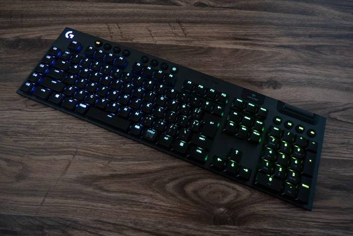 ロジクール G913 LEDライト