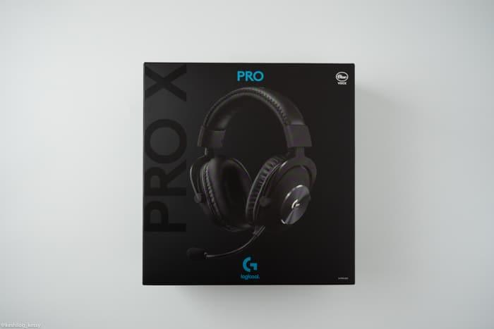 ロジクール G PRO-X 箱
