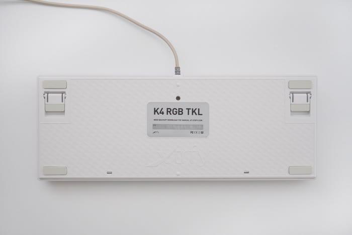 xtrfy k4 tkl ホワイト レビュー