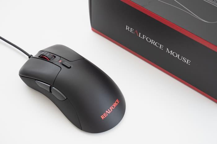 REALFORCE MOUSE レビュー:トコトコ、スコスコ。クリックボタンに静電容量無接点スイッチ採用した世界初のマウス