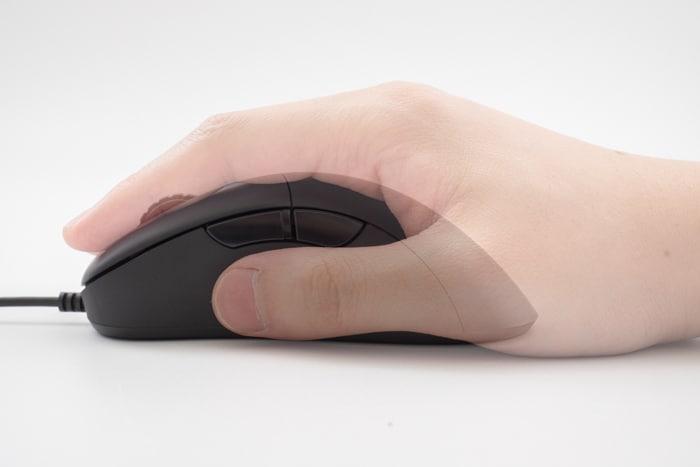 realforce mouse かぶせ持ち