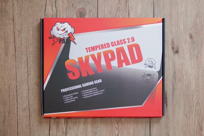 skypad glass 2.0 レビュー