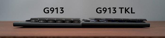 G913とG913TKLの比較