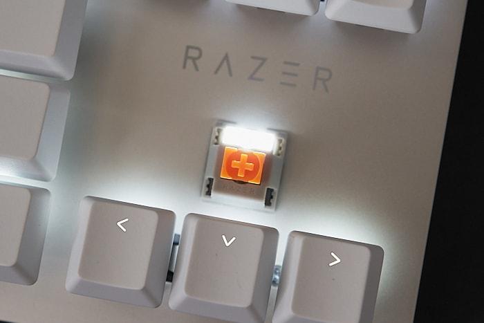 Razer オレンジ軸