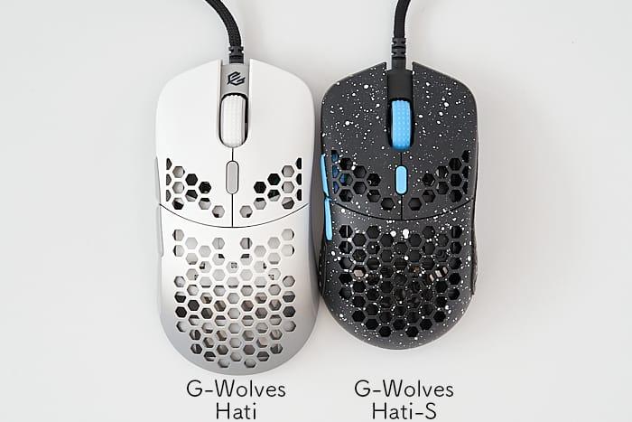 G-Wolves Hati-S Hati-m 比較