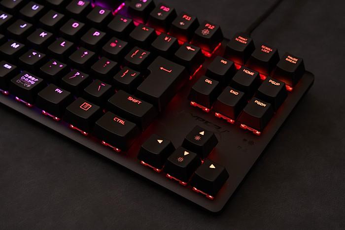 Hyper X Alloy Origins Core LEDの光り方