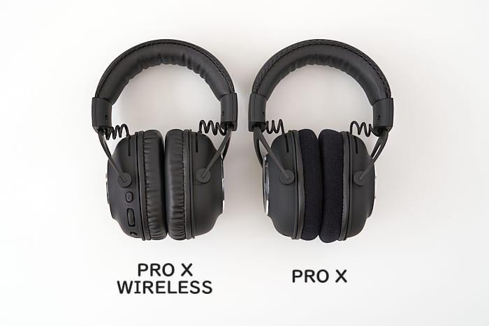 PRO X PRO X WIRELESS 比較