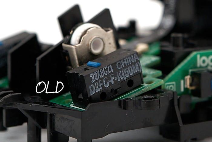 g pro wireless 新型 マイクロスイッチ
