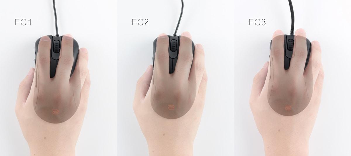 EC サイズ比較